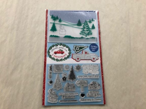 Christmas Craft Set/Stamps-image not found