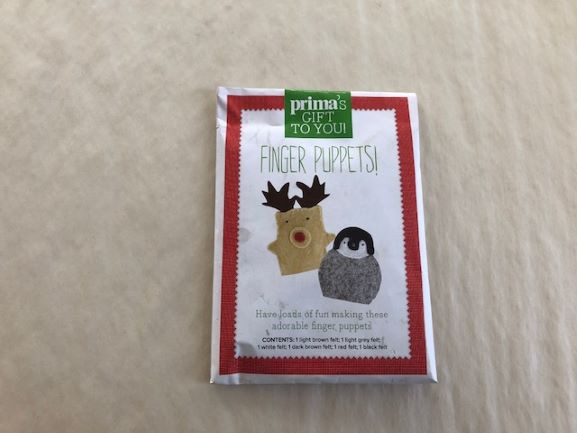 Christmas Finger Puppet Sewing Kit-image not found