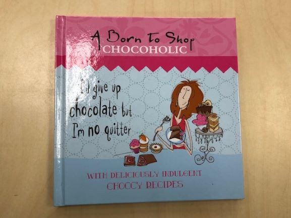 A Born to Shop Chocoholic Book-image not found