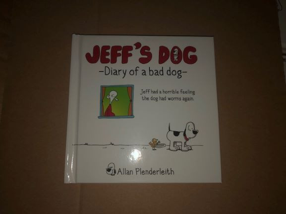 Jeffs Dog - Diary Of A Bad Dog -image not found