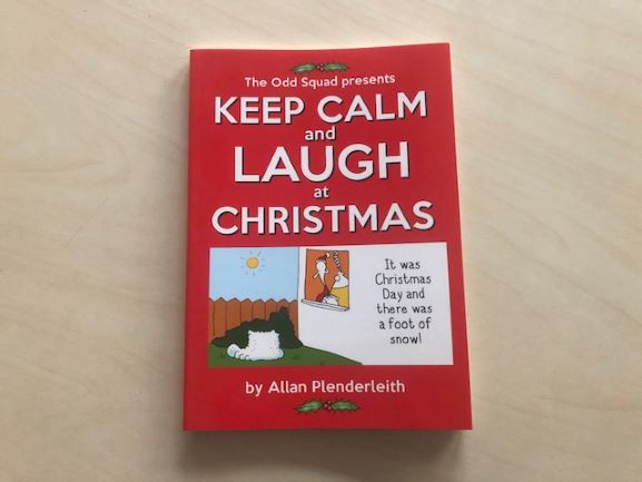 Keep Calm & Laugh at Christmas -image not found