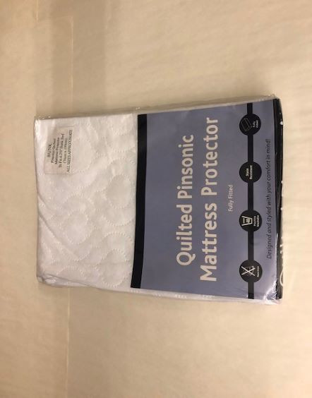 Quilted Pinsonic Mattress Protector (Bunk bed size)-image not found