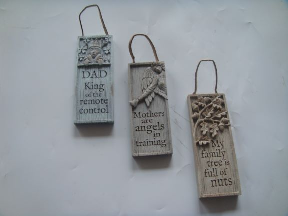Ceramic Plaques (with quotes)-image not found