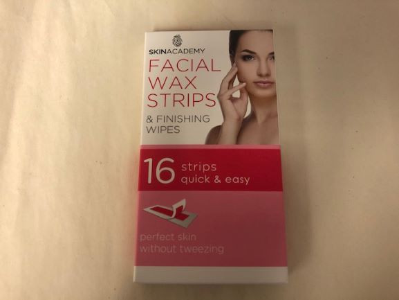 Facial Wax Strips-image not found